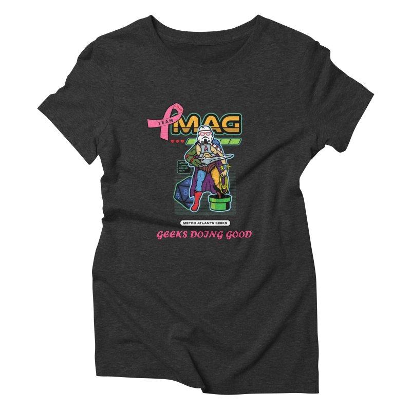 TEAM MAG 2019 Women's Triblend T-Shirt by ATL Geek Merch Shop