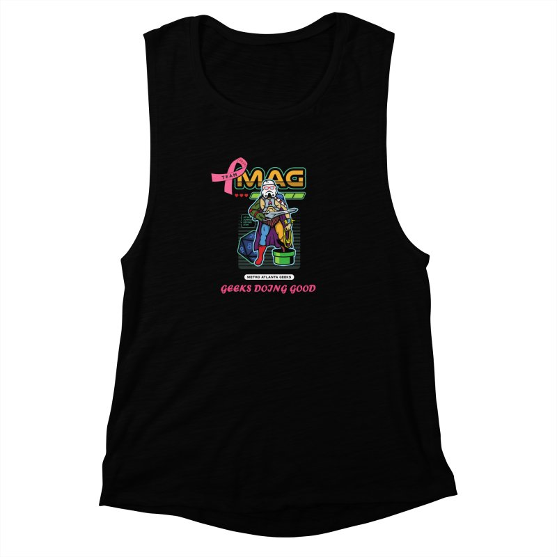 TEAM MAG 2019 Women's Muscle Tank by ATL Geek Merch Shop