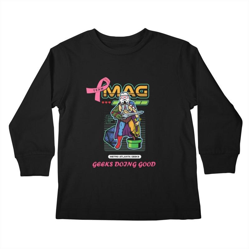 TEAM MAG 2019 Kids Longsleeve T-Shirt by ATL Geek Merch Shop