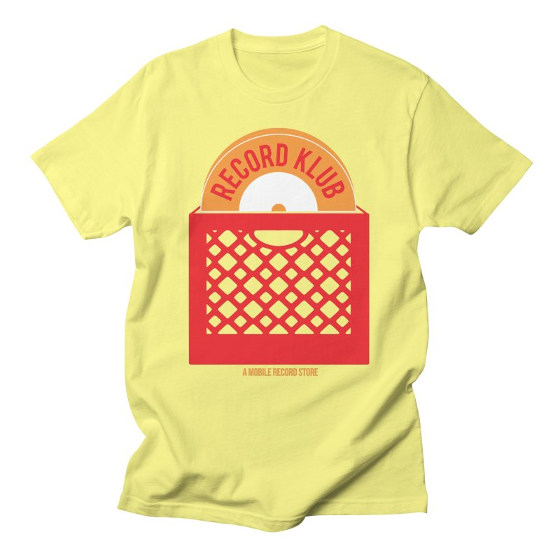The Record Klub™ Men's T-Shirt by World Of Goodness