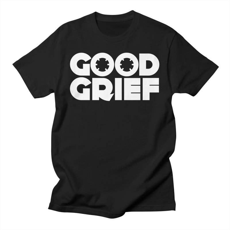 Dj Good Grief - Basic Black T-Shirt Men's T-Shirt by World Of Goodness