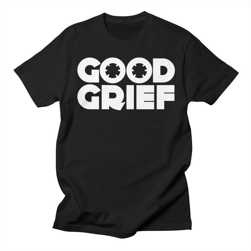 Dj Good Grief - Basic Black T-Shirt Men's T-Shirt by World Of Goodness