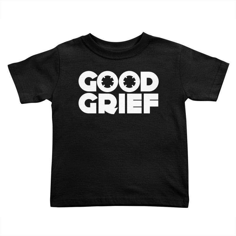 Dj Good Grief - Basic Black T-Shirt Kids Toddler T-Shirt by World Of Goodness