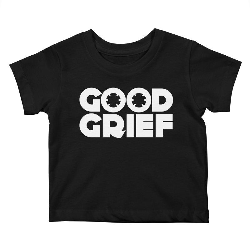 Dj Good Grief - Basic Black T-Shirt Kids Baby T-Shirt by World Of Goodness