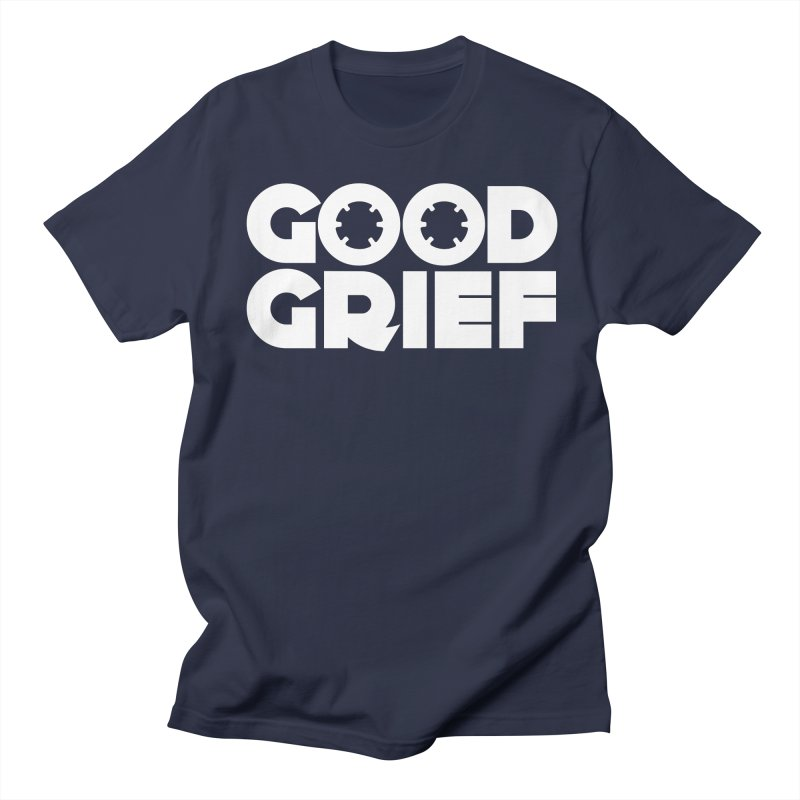 Dj Good Grief Navy Blue T-Shirt Women's T-Shirt by World Of Goodness