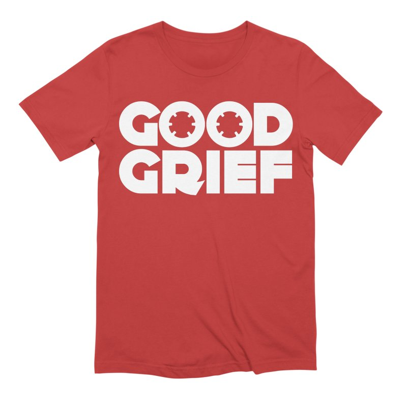 Dj Good Grief Red Maple T-Shirt Men's T-Shirt by World Of Goodness