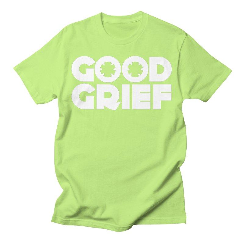 DJ Good Grief Neon Green T-Shirt Men's T-Shirt by World Of Goodness