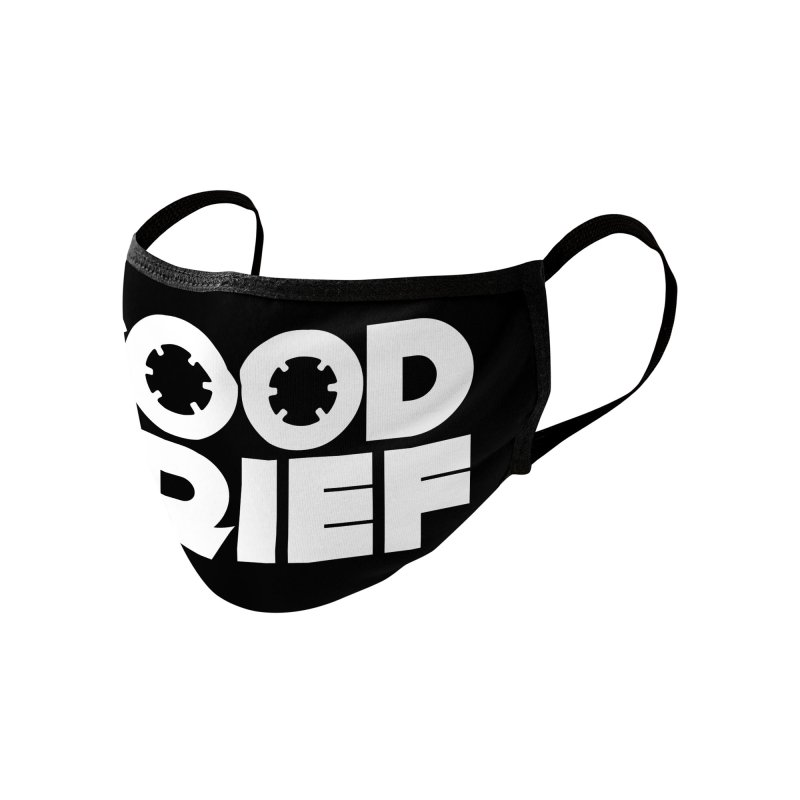 Dj Good Grief Mask Accessories Face Mask by World Of Goodness
