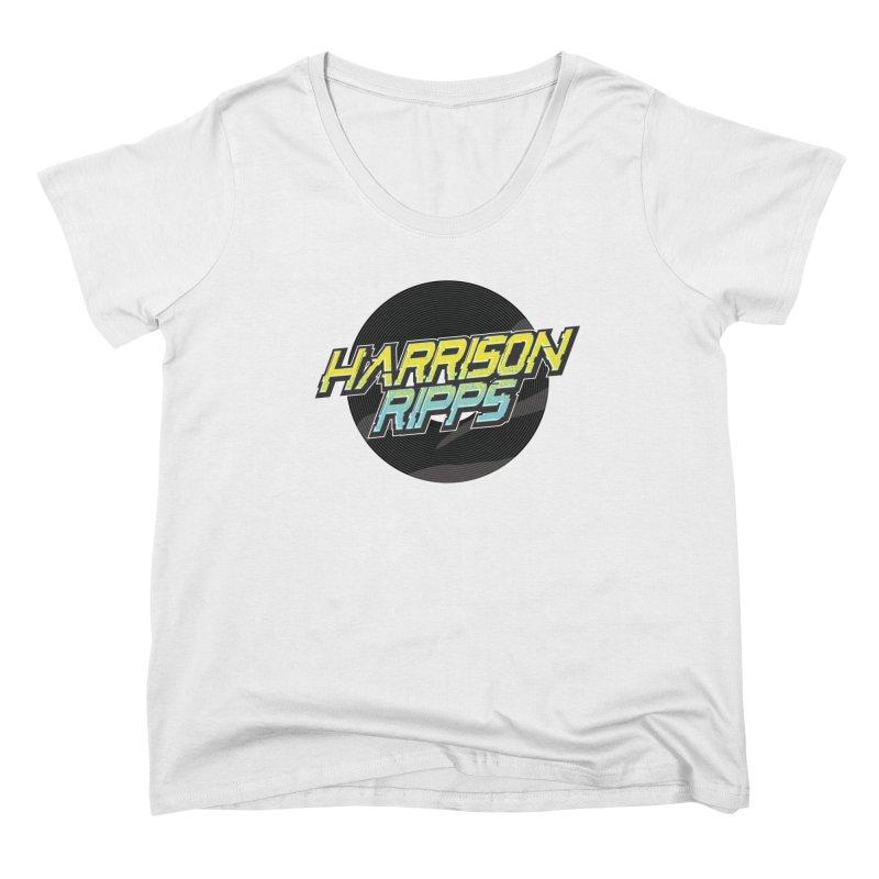 Logo Gear Women's Scoop Neck by DJ Harrison Ripps