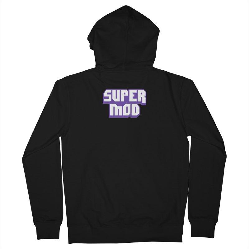 Super Mod Men's Zip-Up Hoody by djillusive's Artist Shop