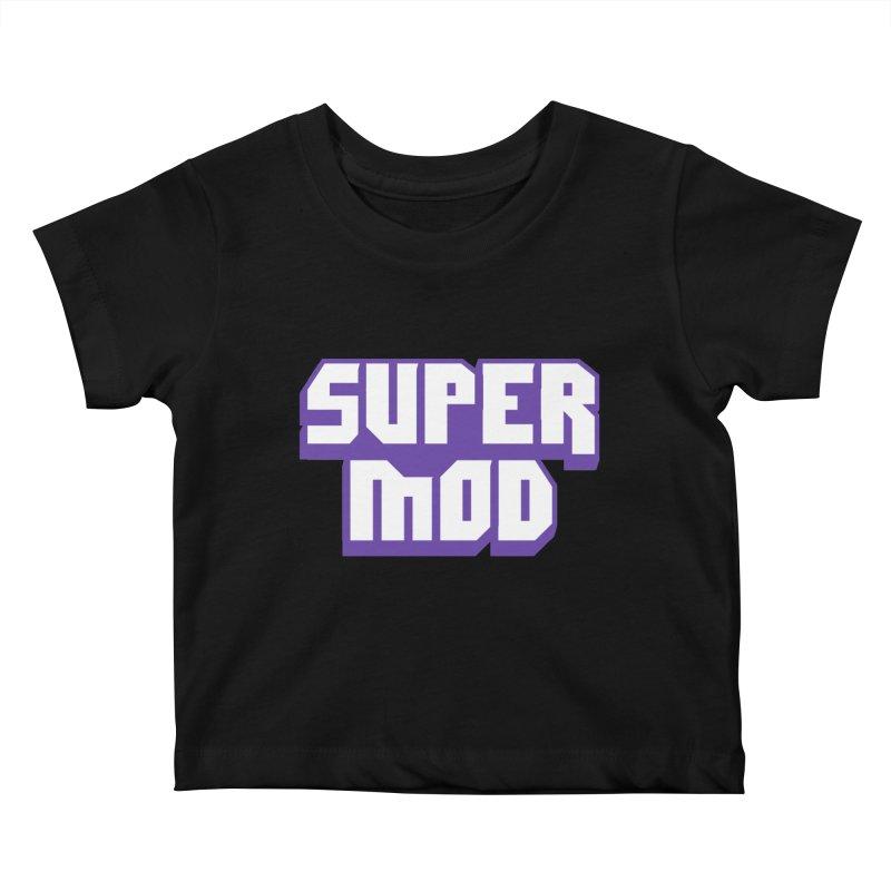 Super Mod Kids Baby T-Shirt by djillusive's Artist Shop