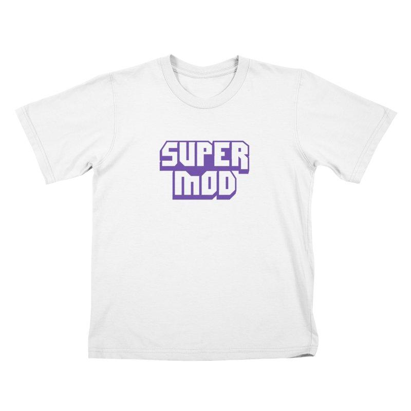 Super Mod Kids T-Shirt by djillusive's Artist Shop