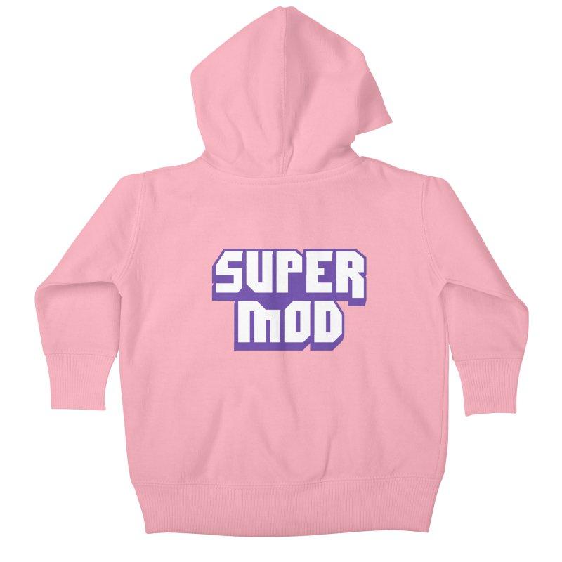 Super Mod Kids Baby Zip-Up Hoody by djillusive's Artist Shop