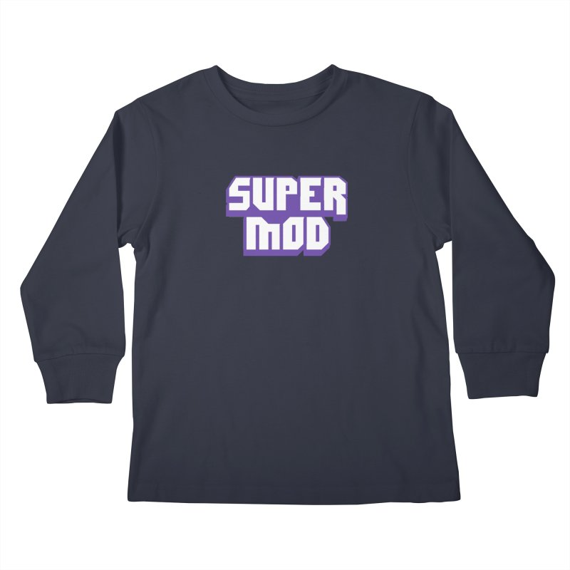 Super Mod Kids Longsleeve T-Shirt by djillusive's Artist Shop