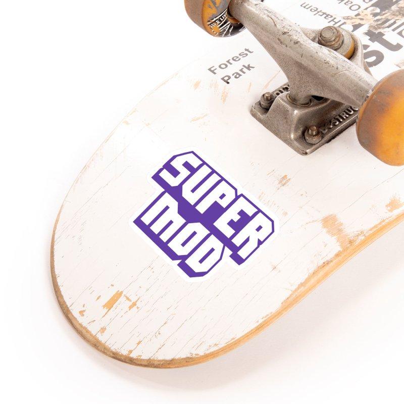 Super Mod Accessories Sticker by djillusive's Artist Shop