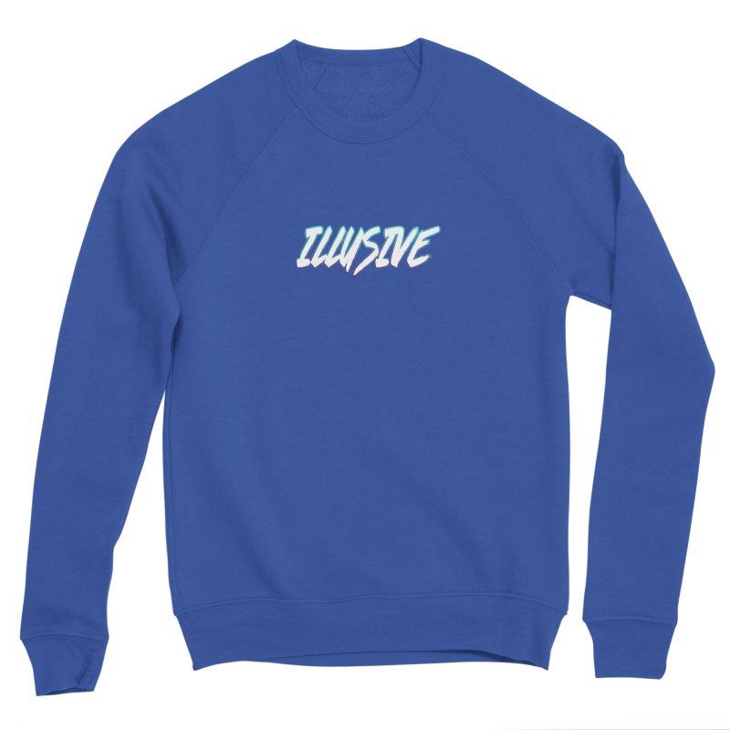 Illusive Logo Men's Sweatshirt by djillusive's Artist Shop