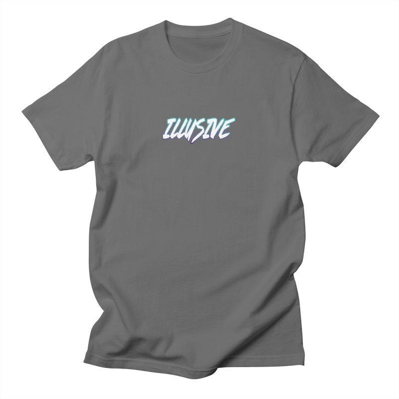 Illusive Logo Men's T-Shirt by djillusive's Artist Shop