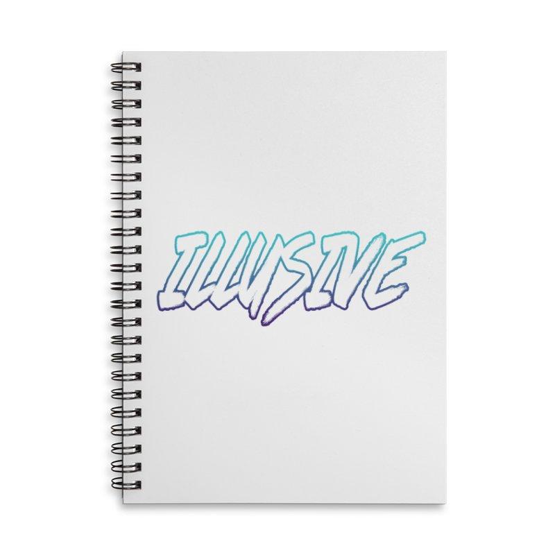 Illusive Logo Accessories Notebook by djillusive's Artist Shop