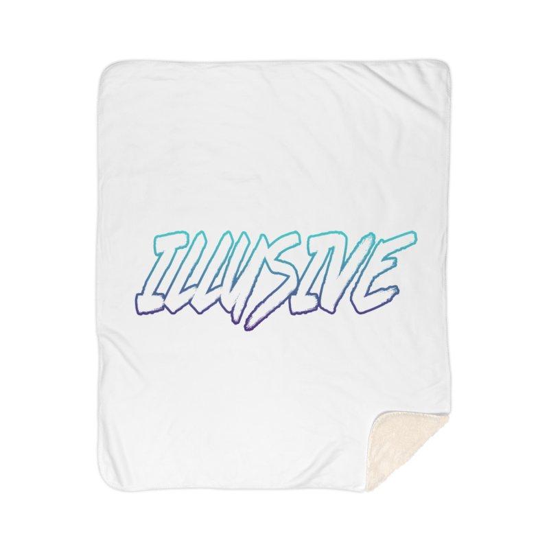 Illusive Logo Home Blanket by djillusive's Artist Shop