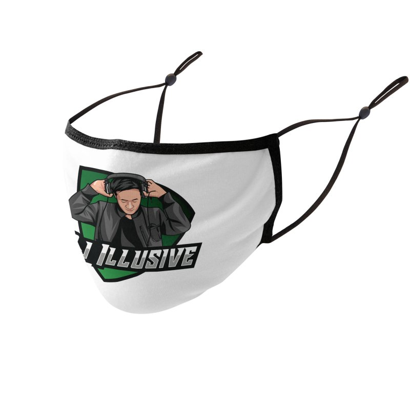 Dj Illusive Gamer Logo Accessories Face Mask by djillusive's Artist Shop