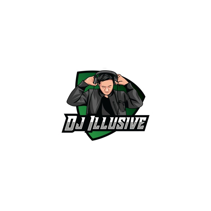 Dj Illusive Gamer Logo Women's V-Neck by djillusive's Artist Shop