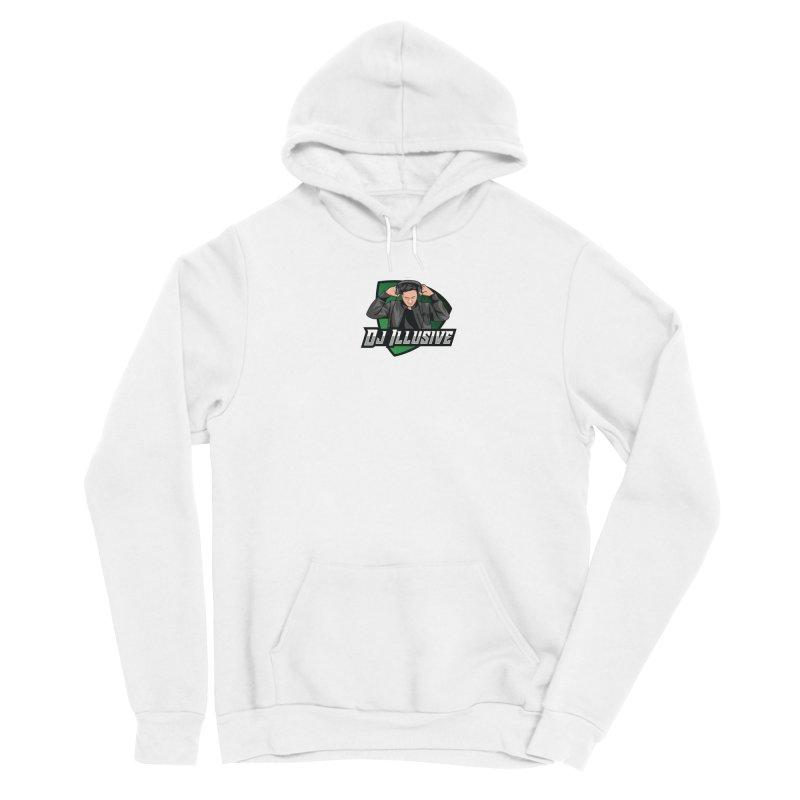 Dj Illusive Gamer Logo Men's Pullover Hoody by djillusive's Artist Shop