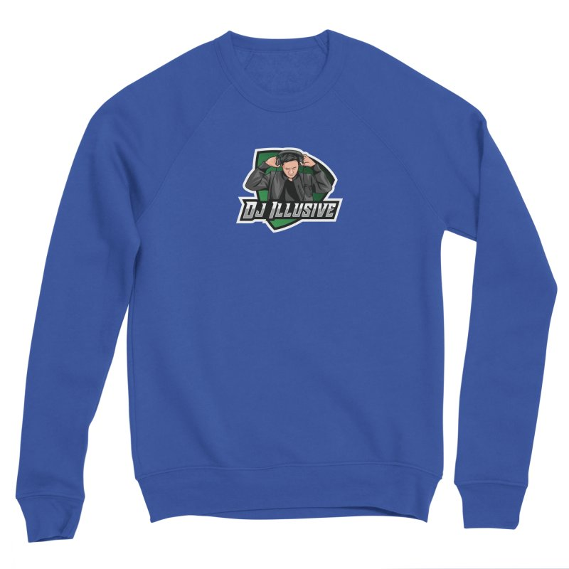 Dj Illusive Gamer Logo Men's Sweatshirt by djillusive's Artist Shop