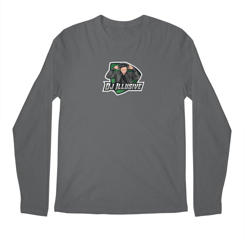 Dj Illusive Gamer Logo Men's Longsleeve T-Shirt by djillusive's Artist Shop
