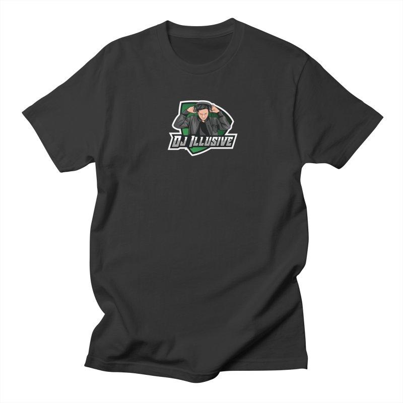 Dj Illusive Gamer Logo Men's T-Shirt by djillusive's Artist Shop