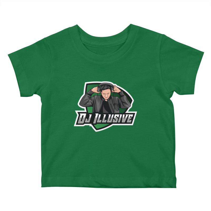 Dj Illusive Gamer Logo Kids Baby T-Shirt by djillusive's Artist Shop