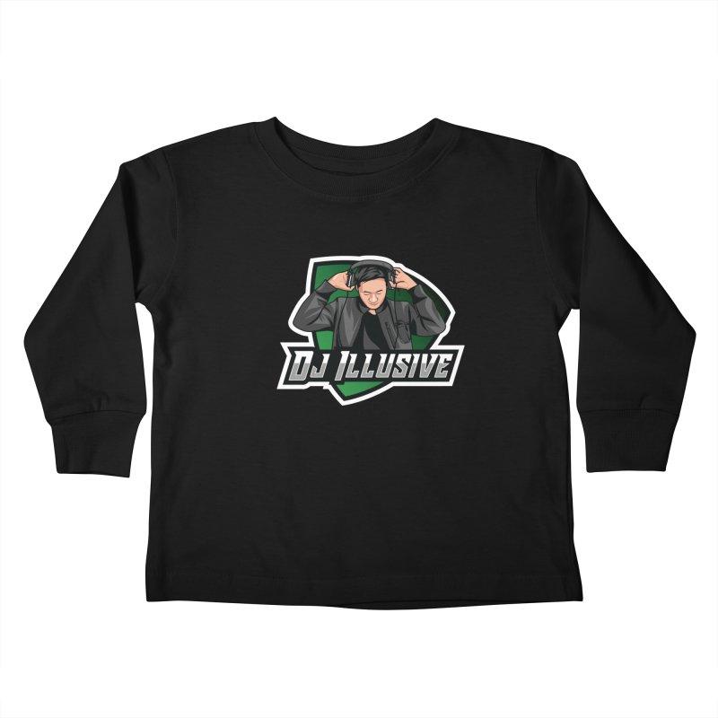 Dj Illusive Gamer Logo Kids Toddler Longsleeve T-Shirt by djillusive's Artist Shop