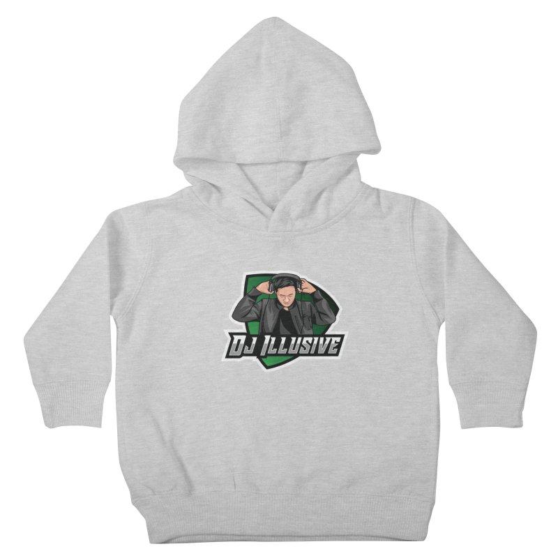 Dj Illusive Gamer Logo Kids Toddler Pullover Hoody by djillusive's Artist Shop