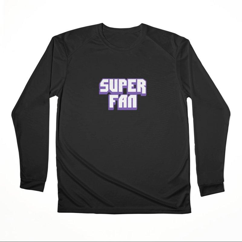 Superfan Women's Longsleeve T-Shirt by djillusive's Artist Shop