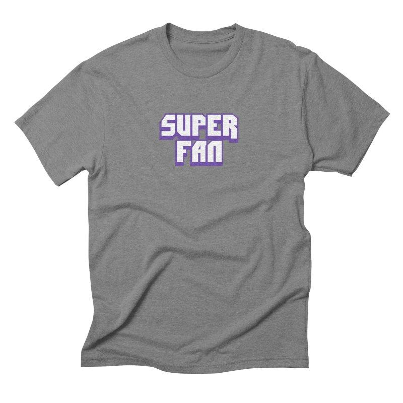 Superfan Men's T-Shirt by djillusive's Artist Shop