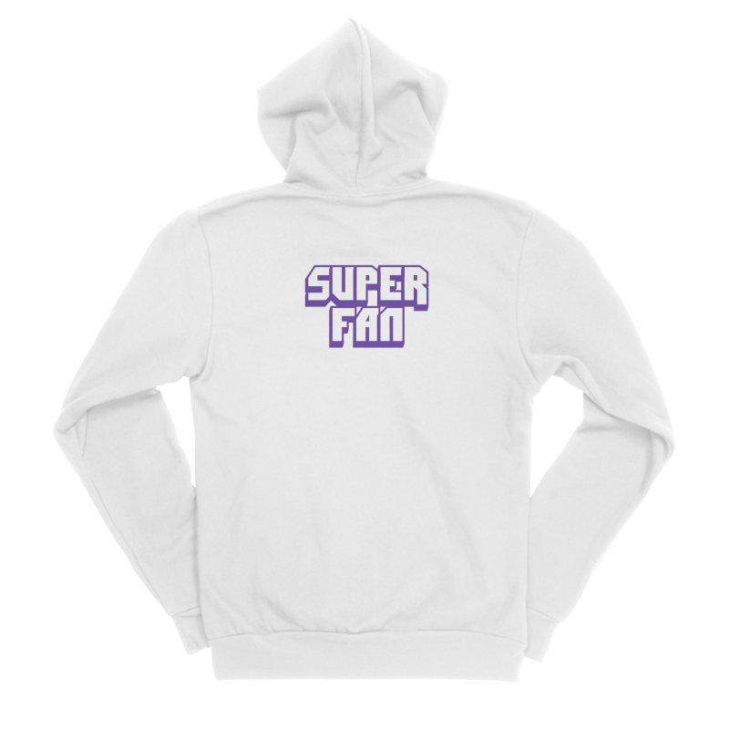 Superfan Women's Zip-Up Hoody by djillusive's Artist Shop