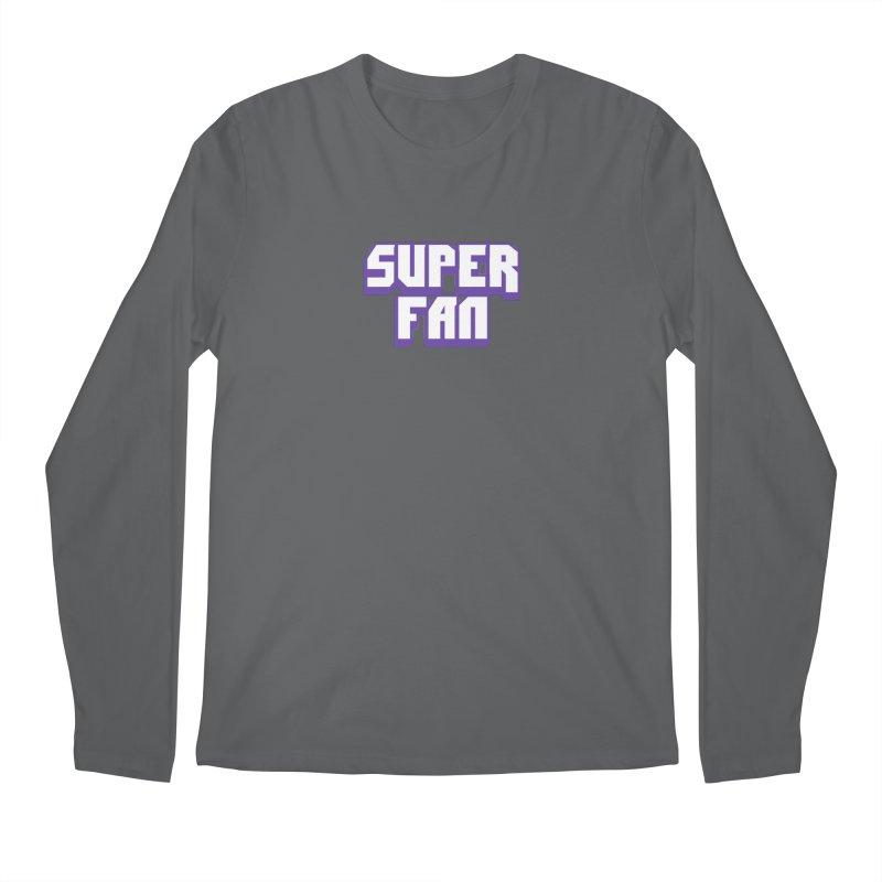 Superfan Men's Longsleeve T-Shirt by djillusive's Artist Shop