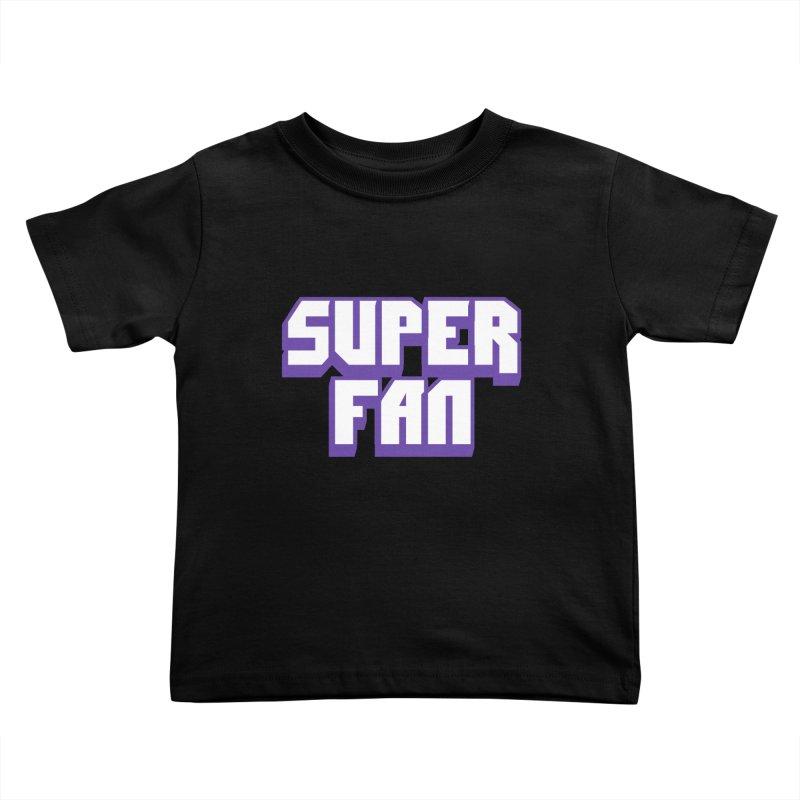 Superfan Kids Toddler T-Shirt by djillusive's Artist Shop