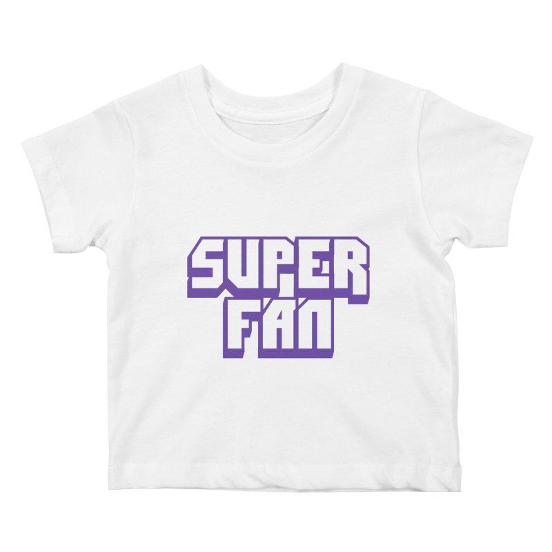 Superfan Kids Baby T-Shirt by djillusive's Artist Shop