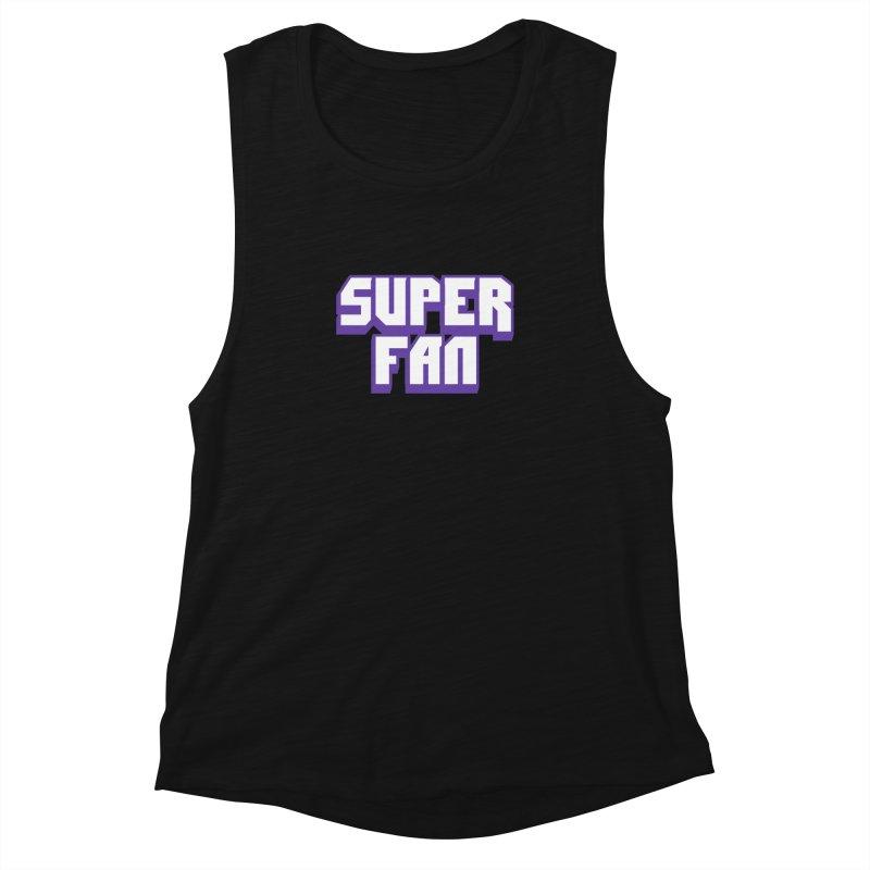 Superfan Women's Tank by djillusive's Artist Shop