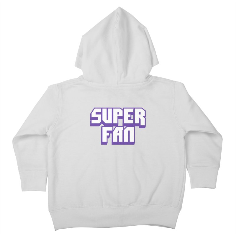 Superfan Kids Toddler Zip-Up Hoody by djillusive's Artist Shop
