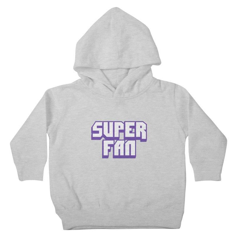 Superfan Kids Toddler Pullover Hoody by djillusive's Artist Shop