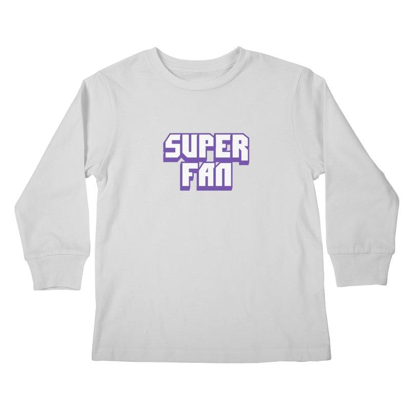 Superfan Kids Longsleeve T-Shirt by djillusive's Artist Shop