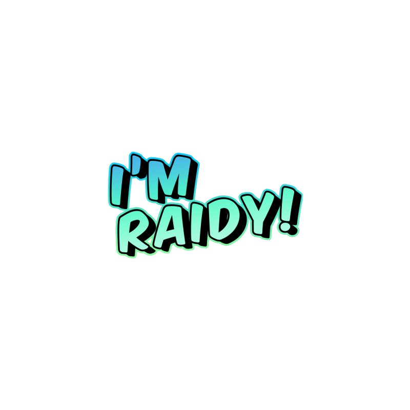 I'm Raidy Version 2 Accessories Face Mask by djillusive's Artist Shop