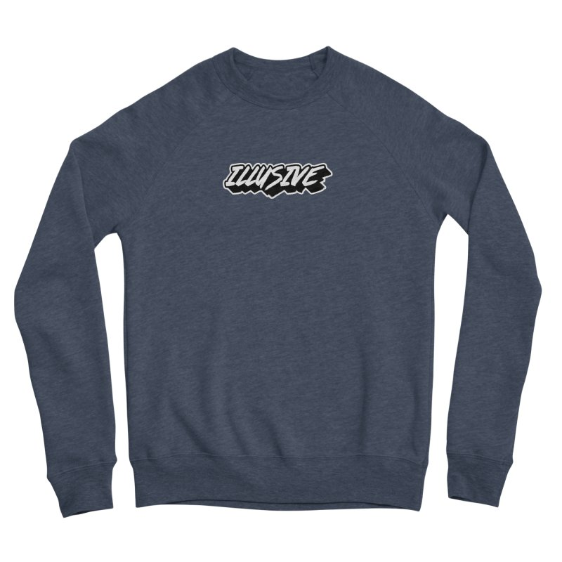 Illusive Main Logo Women's Sweatshirt by djillusive's Artist Shop