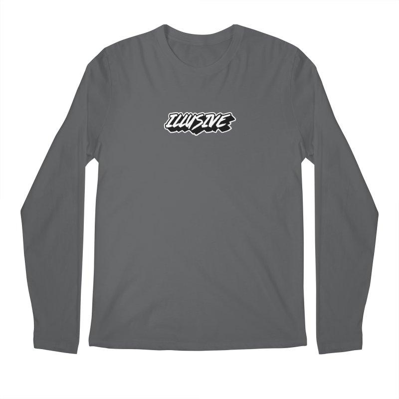 Illusive Main Logo Men's Longsleeve T-Shirt by djillusive's Artist Shop