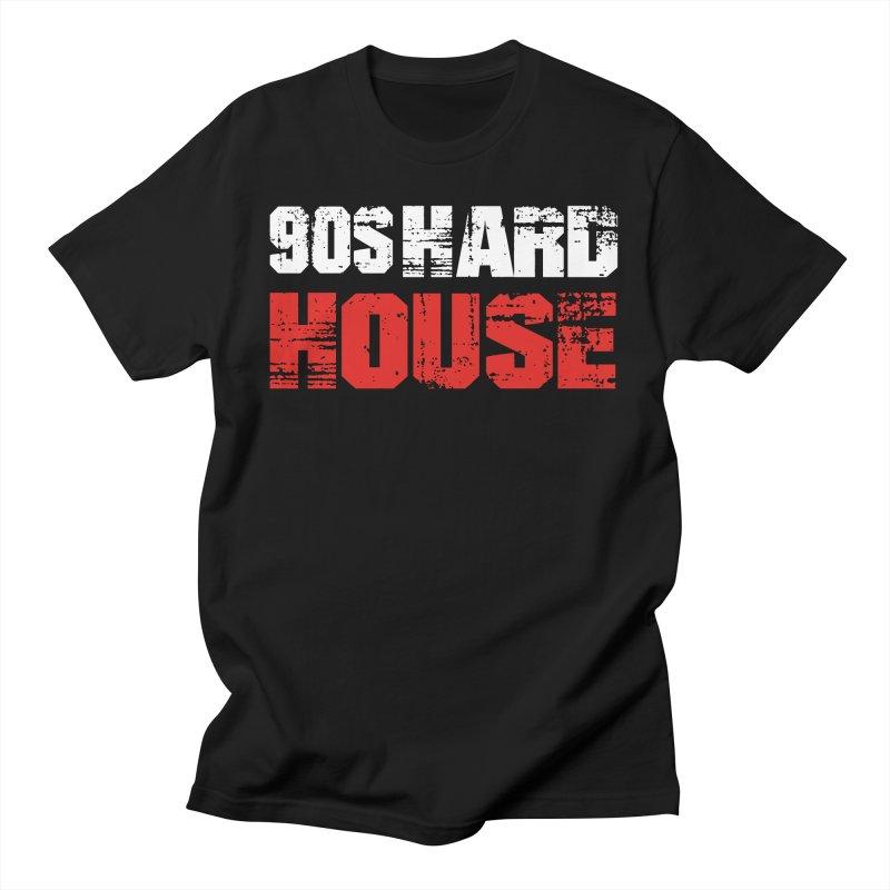90s Hard House Men's T-Shirt by djjesseo's Artist Shop