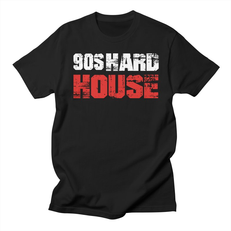 90s Hard House Men's T-Shirt by djjesseo's Artist Shop