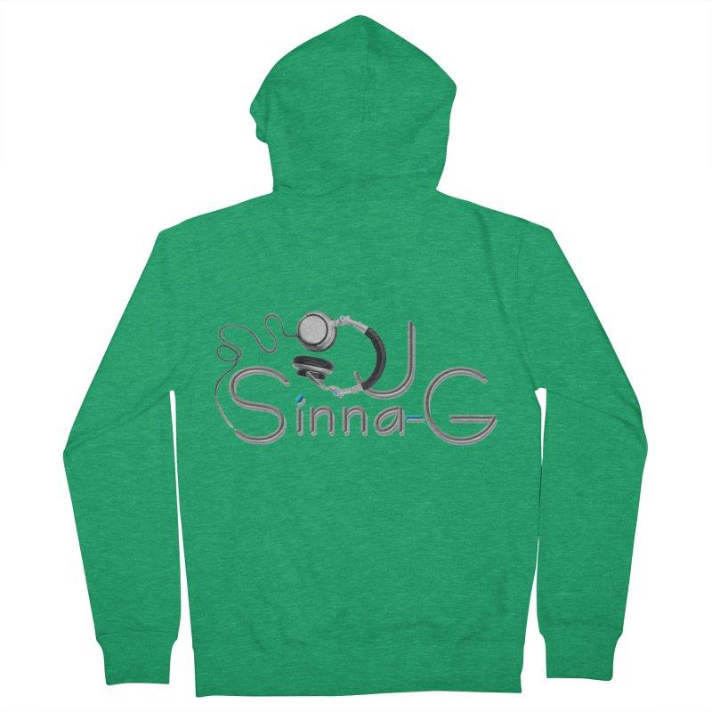Sinna-G Logo Men's Zip-Up Hoody by DJ Sinna-G's Shop