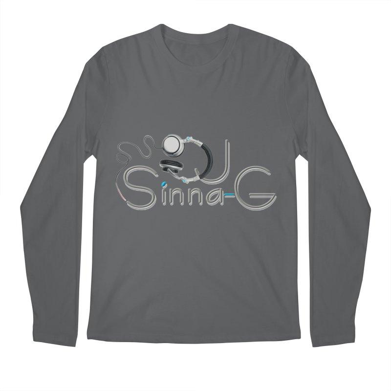 Sinna-G Logo Men's Longsleeve T-Shirt by DJ Sinna-G's Shop