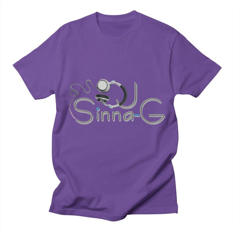 Sinna-G Logo Men's T-Shirt by DJ Sinna-G's Shop